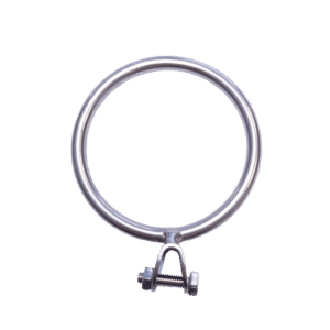 Bootshaakhouder ring RVS A2